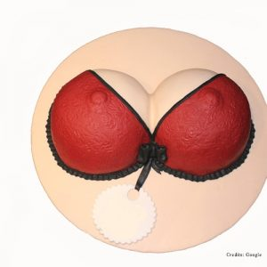Bra Shaped Adult Cake Pune