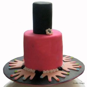 Nail Polish Bottle Cake pune