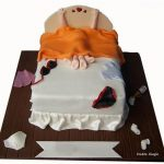 Couple On Bed Cake Pune