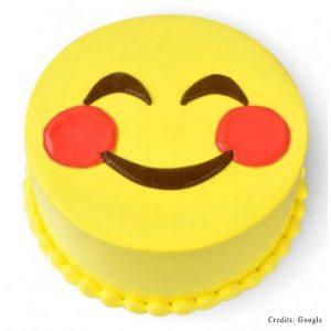 Happy Face Emoji Cake Pune