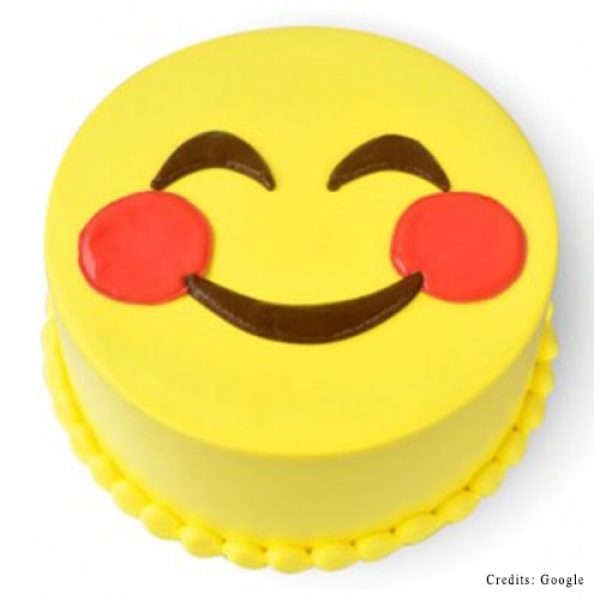 Happy Face Emoji Cake Pune