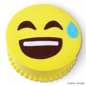 Happy Sweat Face Cake Pune