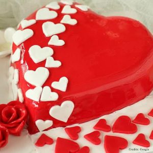 Heart Shaped Cake Pune
