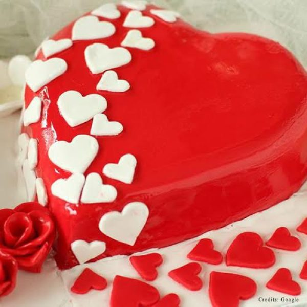 Heart Shaped Cake Pune
