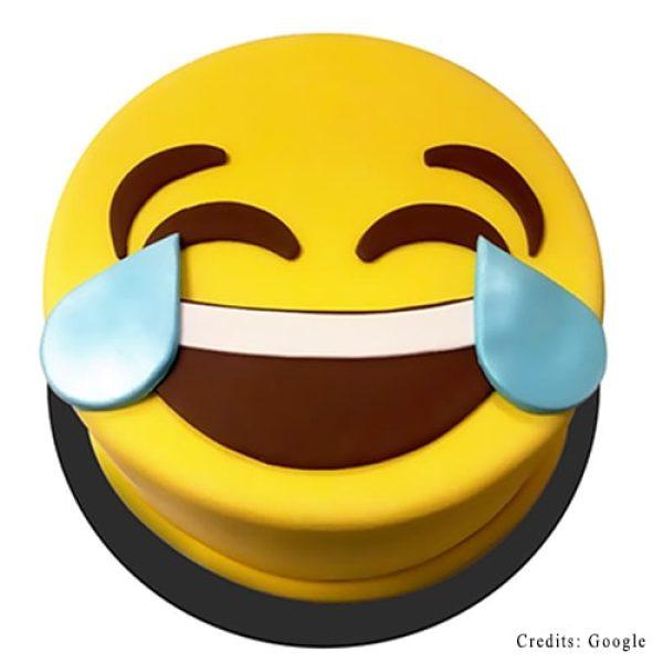 Laughing Emoji cake Pune