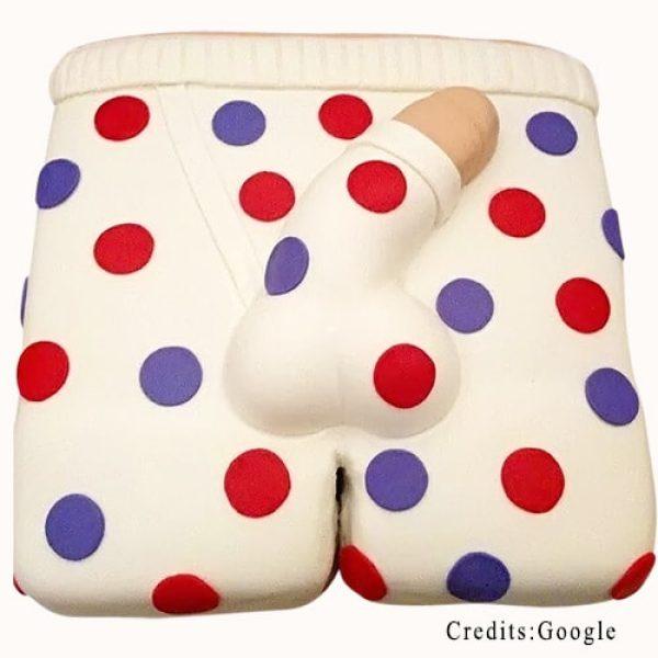 Penis in Polka Dots Underwear Pune
