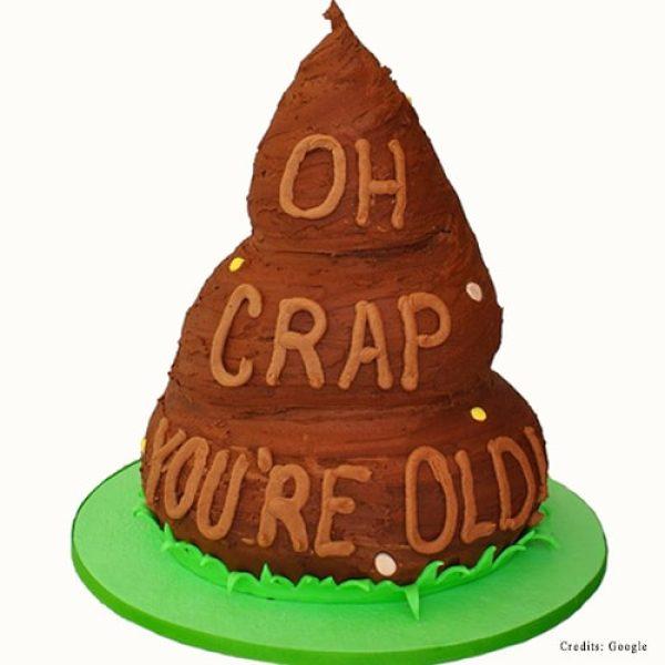 Poop Birthday Cake pune