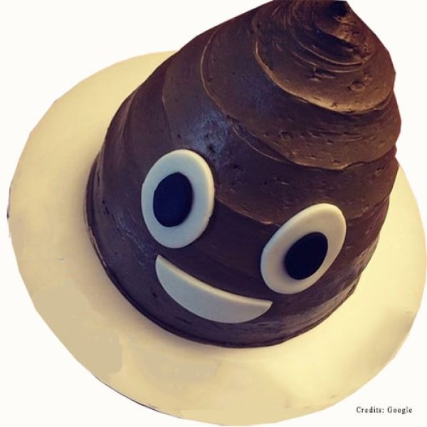 Poop smiley Cake pune