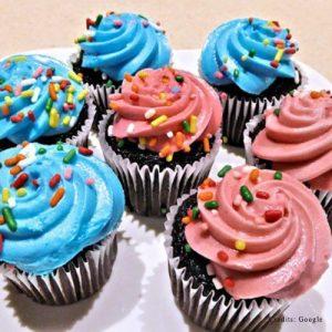 Rainbow Sprinklers Cupcakes pune